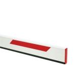 Стрела прямоугольная алюминиевая, 5 метров, с резиновым профилем и светоотражающими наклейками (для SPIN 4). Genius BEAM 5 (58P1818)
