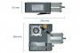 купить привод осевой для секционных ворот с полнофункциональным встроенным блоком управления, площадь створки s max < 25 кв.м., с цепным редуктором genius mercury cv plus