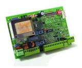 Плата блока управления для 2-х приводов с питанием 220В с входом для концевых выключателей, без бокса. Genius Brain 592 (JA592)
