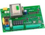 Плата блока управления для 2 моторов 220В, со встроенным приемником радиоканала для брелков Bravo 4 и ECHO TX4, без бокса. Genius Brain 16 (6100303)