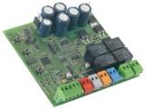 Блок управления для 2-х приводов с питанием 24В в корпусе, в том числе приводов с технологией ENW, без концевых выключателей Genius Brain 15 (6100263)