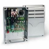 Блок управления для 1-го привода с питанием 220В с входом для концевых выключателей (для привода Mercury) в корпусе. Genius Geo 04 (6100108)