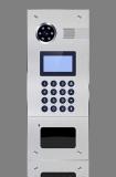 Вызывная видеопанель многоабонентская с считывателями для проксимити карт BAS-IP AA-05 v.3