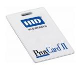 Proximity карта HID стандартная ProxCard II
