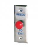 Кнопка (грибок) запроса на выход, НО, габариты 115х43 мм Capricorn PBT-010
