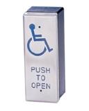 "Кнопка запроса на выход ""инвалид"", НО / НЗ, габариты 115х43 мм Capricorn PBT-030"