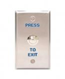Кнопка запроса на выход, НО / НЗ, габариты 115х70 мм Capricom PBT-020B-4