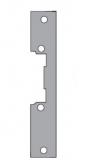 Планка, плоская, короткая, универсальная, нержавеющая сталь для серии 40, 44, 46, 47, 48, 49. O&C F 61 Inox (41 Inox)