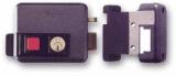 Тип 4. Замок электромеханический, накладной, внутренний цилиндр, кнопка на выход ISEO 5113-20