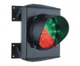 Светофор 1-но секционный красный/зеленый, LED-матрица 25+25, 24 В. Stagnoli ASF50L1RV-01
