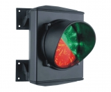 Светофор 1-но секционный красный/зеленый, LED-матрица 25+25, 220 В. Stagnoli ASF50L1RV230-01