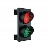 Светофор 2-х секционный красный/зеленый, LED-матрица 25+25, 220 В. Stagnoli ASF25L2RV230