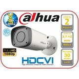 Уличная цилиндрическая HDCVI видеокамера 1080P Dahua DH-HAC-HFW1200RMP-0360B