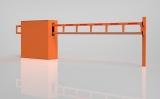 Антивандальный механический шлагбаум (мини) ОЭ-4.0, 4 м