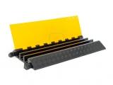 Кабель-канал резиновый, 3 канала по 65 мм K-CP6M