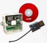 Радиоуправление одноканальное с USB-stick Radio 8615 с USB-stick