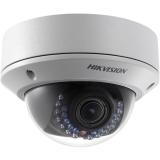 Купольная вандалозащищенная IP-камера, уличная (от -30 до +60), день/ночь с ИК-подсветкой (до 30 метров) DS-2CD2722F-IS