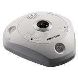12Мп fisheye IP-камера с ИК-подсветкой до 15м DS-2CD63C2F-IVS (1.98mm)