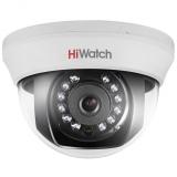 1Мп внутренняя купольная HD-TVI камера с ИК-подсветкой до 20м DS-T101