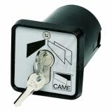 Ключ-выключатель с защитой цилиндра, встраиваемый CAME 001SET-K