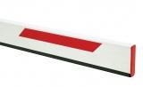 Стрела прямоугольная с демпфером и светоотражающими наклейками, 25х90х2815мм FAAC 428089