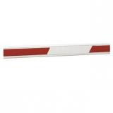Стрела прямоугольная со светоотражающими наклейками, 50х100х4000мм FAAC 428061