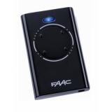 Брелок-передатчик XT4 868 SLH LR 868 МГц 4-канальный SLH код, функция MASTER-SLAVE, черного цвета FAAC XT4 868 SLH LR 868 МГц 7870101