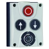 Панель управления XB300 3х кнопочная с ключом, настенный монтаж FAAC XB300 402500
