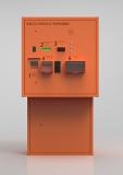 Выездная стойка для автоматической парковочной системы, совмещённая с автоматической кассой