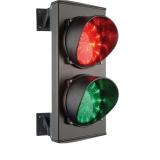 Светофор 2-х секционный красный/зеленый, LED-матрица 25+25, 24 В ASF25L2RV