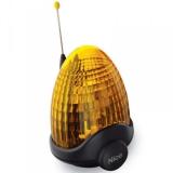 Cигнальная лампа со встроенной антенной, 12В, оранжевая NICE LUCYB