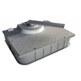 Нереверсивный левый подземный привод для распашных ворот CAME 001FROG-MS