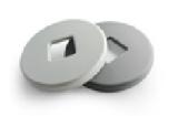 Кожух круглый на ограждение для калитки OTA Carddex G11173/G12173